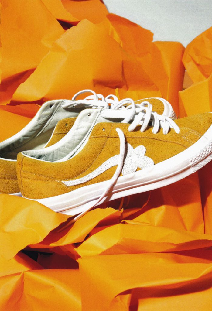 Tyler The Creator And Converse Golf Le Fleur Sneakers
