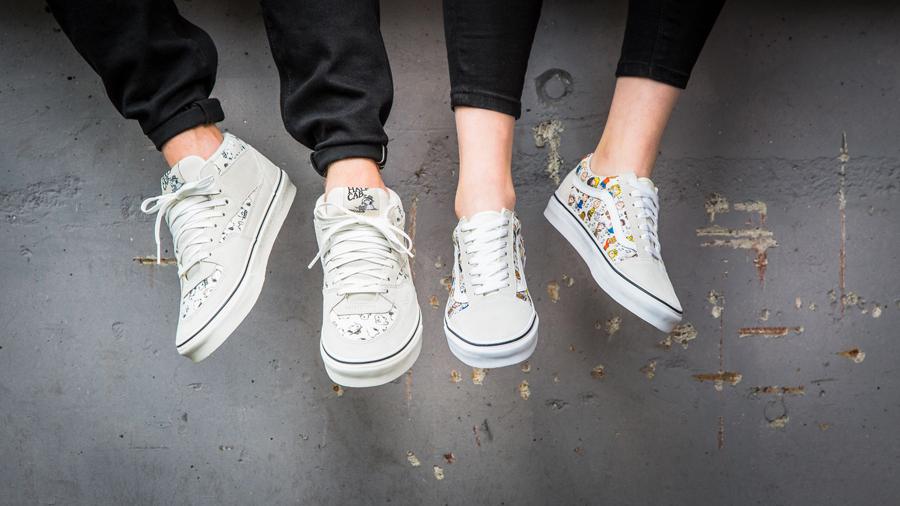 Sneaker Releases in October 2017 - Vans x Peanuts Half Cab & Old Skool