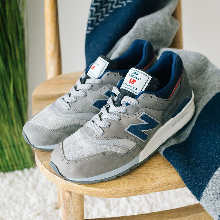 Woolrich x New Balance MADE US 997 (Labels)