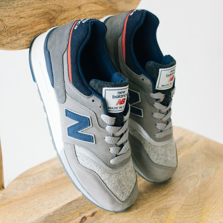 Woolrich x New Balance MADE US 997 (Tongue)