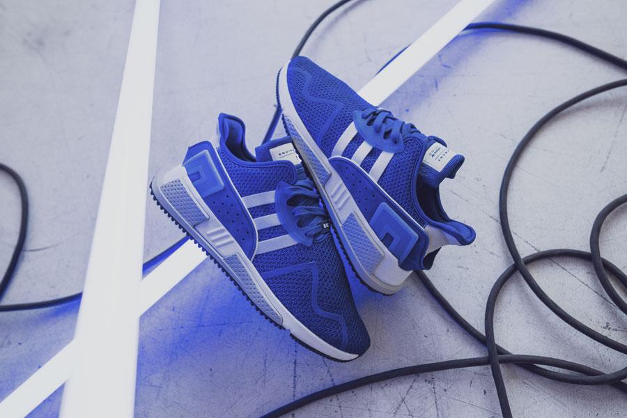 adidas EQT Cushion ADV Blue 95 - Collegiate Navy (Side)