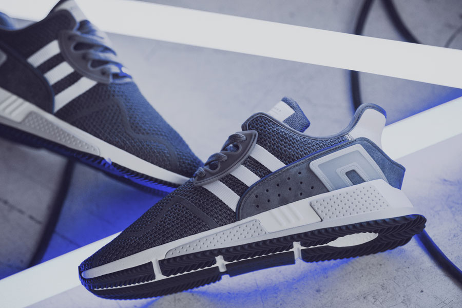 adidas EQT Cushion ADV Trainers, Grey/Green Compare Bluewater