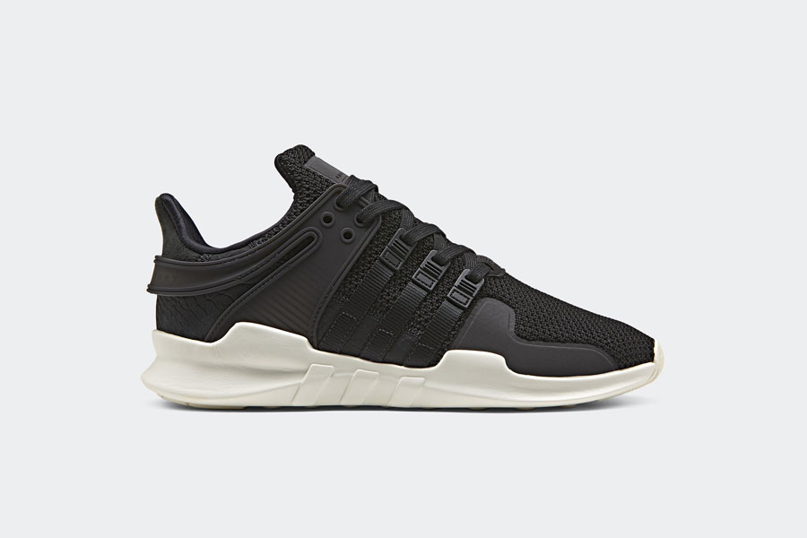 adidas EQT Support ADV Snakeskin - Black (Side)