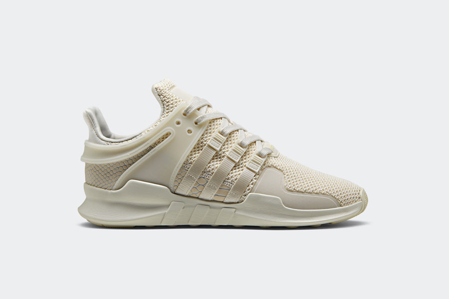 adidas EQT Support ADV Snakeskin - White (Side)