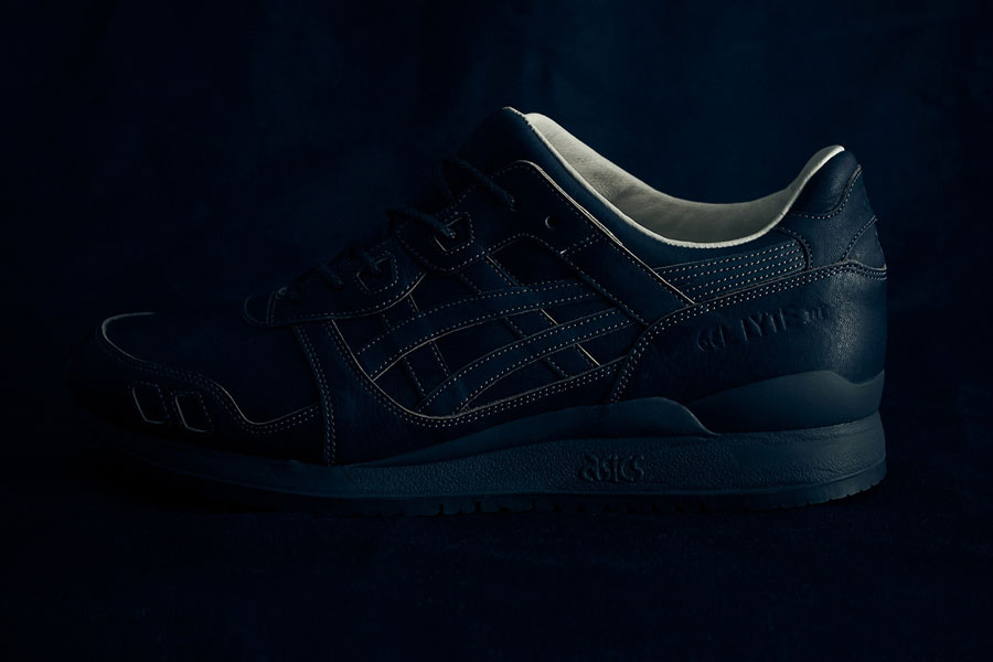 ASICS GEL-LYTE III Made In Japan - Dark Indigo (Side)
