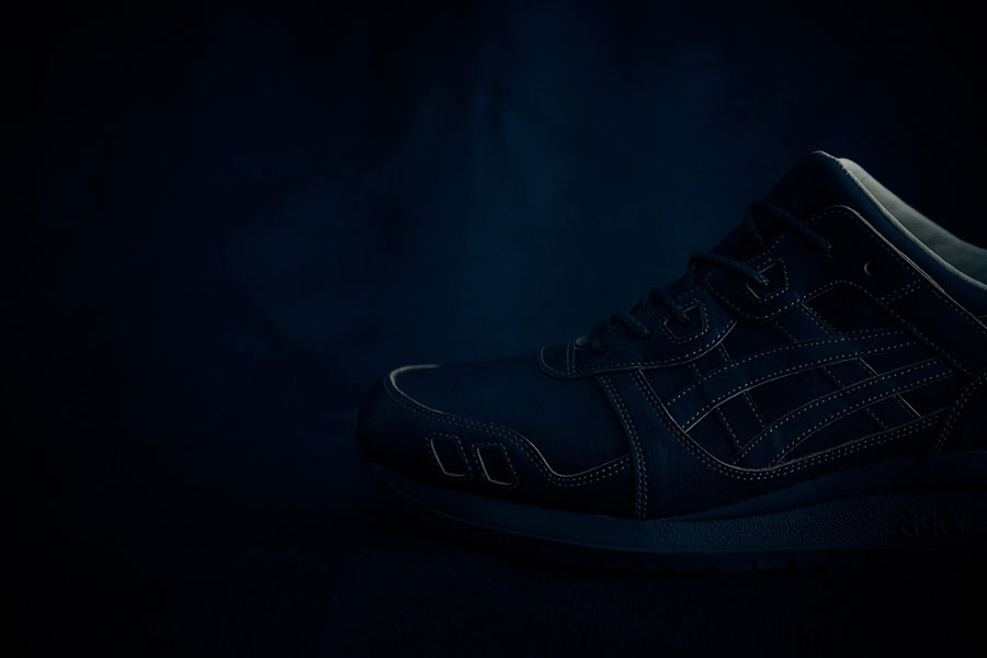 ASICS GEL-LYTE III Made In Japan - Dark Indigo (Toebox)