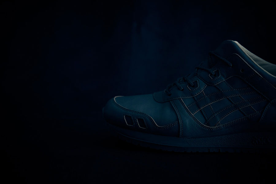 ASICS GEL-LYTE III Made In Japan - Light Indigo (Toebox)