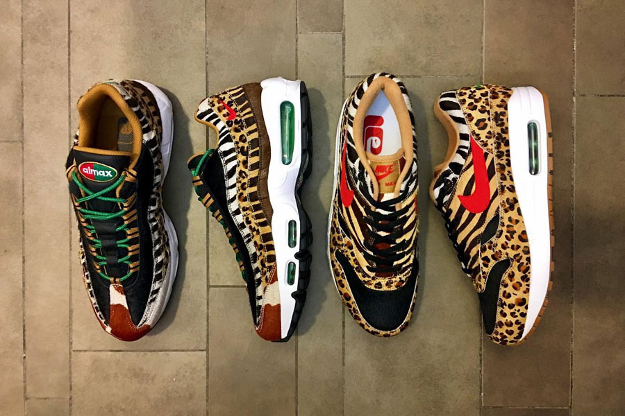 atmos x Nike Air Max Animal Pack 2018