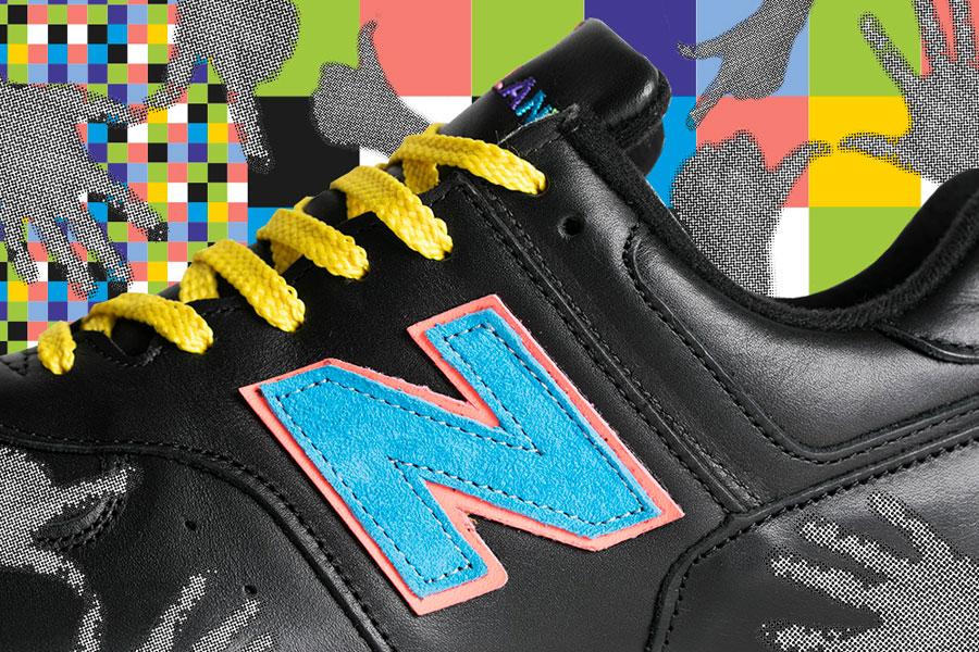 Footpatrol x New Balance M576FPF - Left