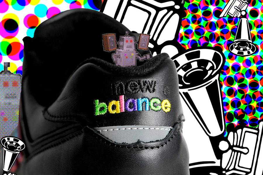 Footpatrol x New Balance M576FPF - Logo