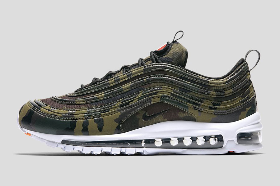 Nike Air Max 97 Country Camo Pack - France (Side)