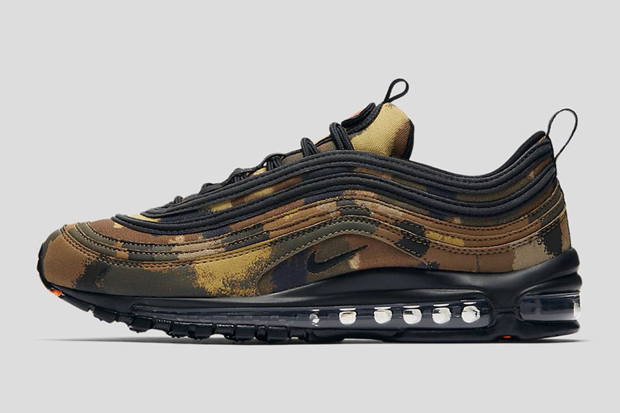Nike Air Max 97 Country Camo Pack - Italy (Side)