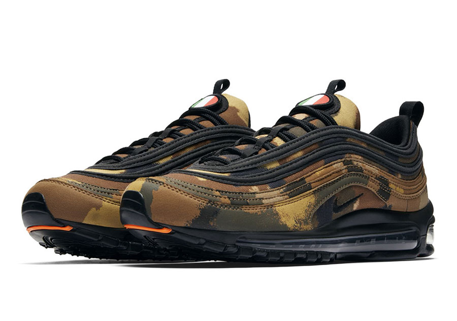 Nike Air Max 97 Country Camo Pack - Italy