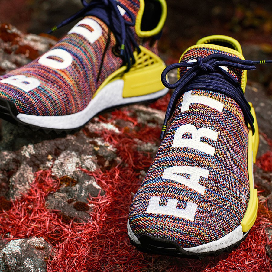 Pharrell adidas Hu NMD TR Hike Collection - Noble Ink (Mood)