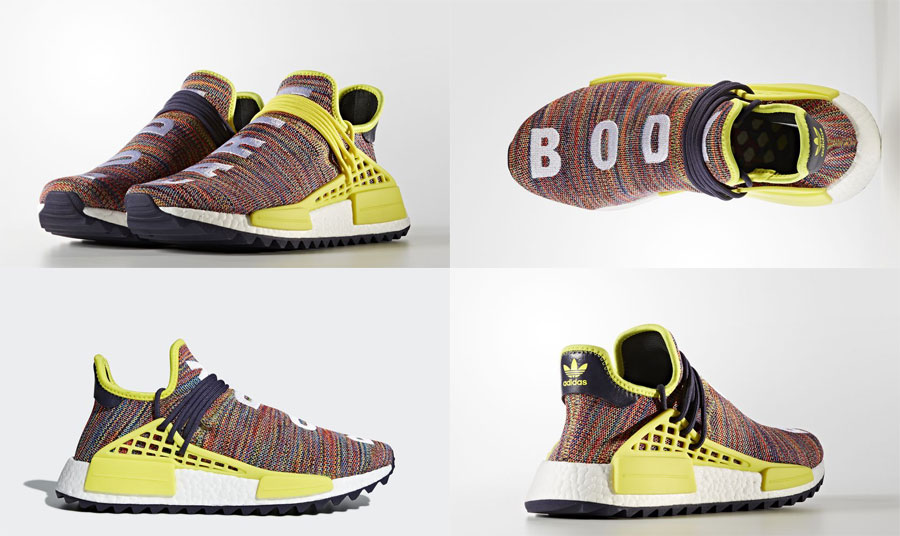 Pharrell adidas Hu NMD TR Hike Collection - Noble Ink