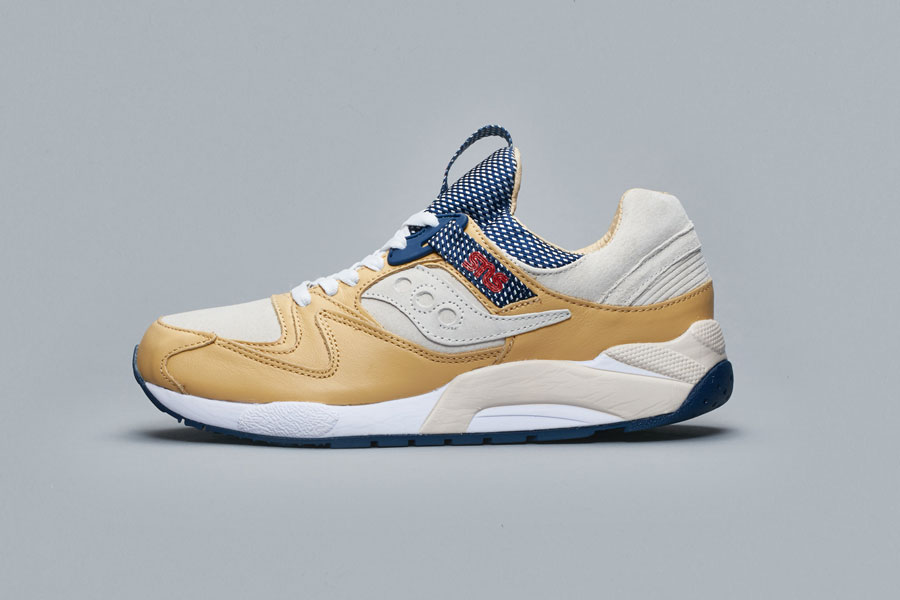 SNS x Saucony Grid 9000 Business Class (Side)