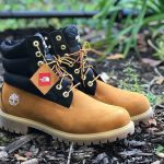 Timberland x The North Face Nuptse Boot (Side)