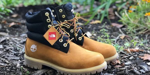 Check out the Timberland x The North Face Nuptse Boot