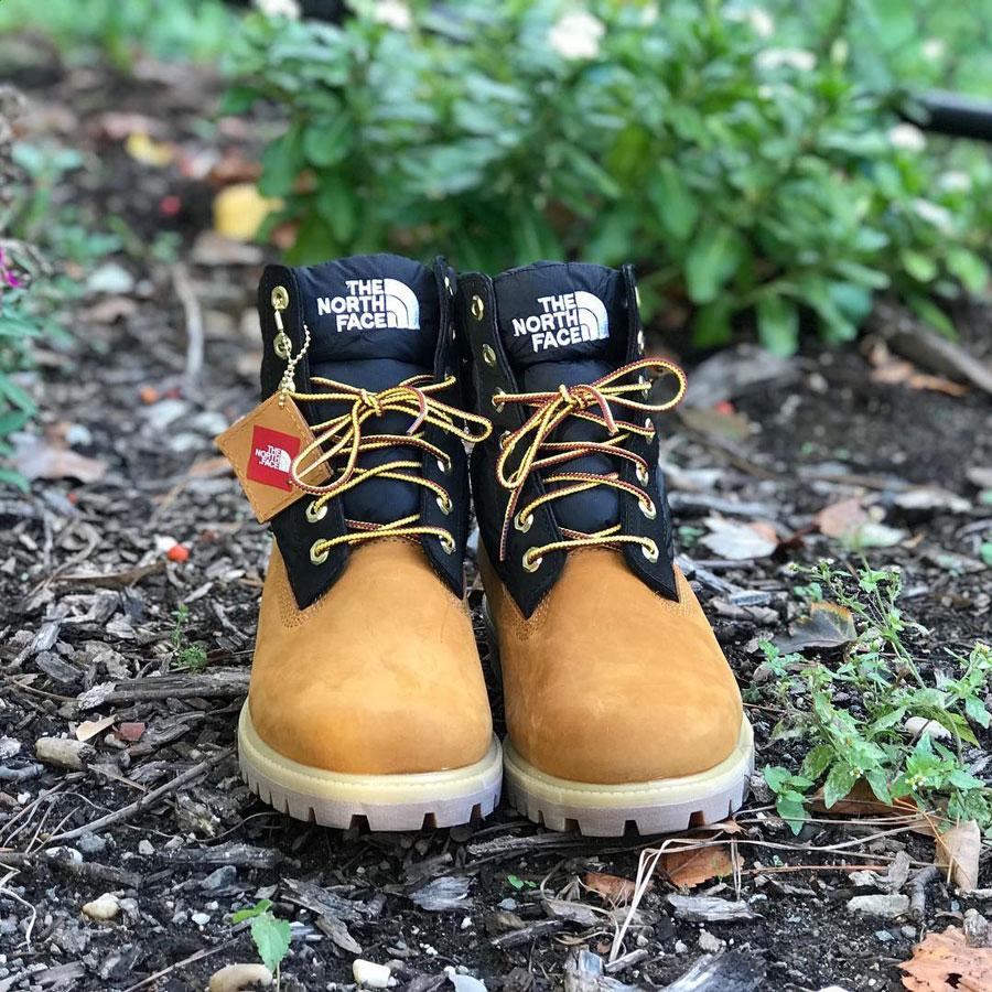 Timberland x The North Face Nuptse Boot (Tongue)