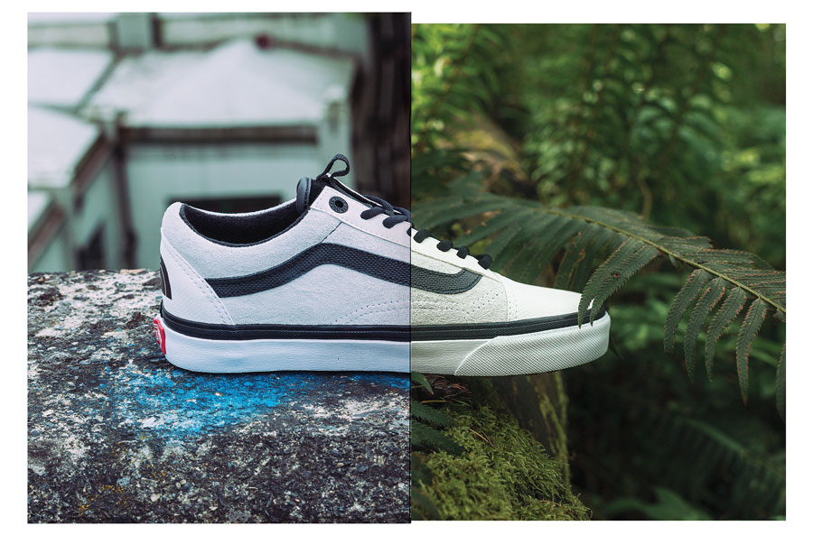 VANS x The North Face 2017 Fall Collection - Old Skool (White)
