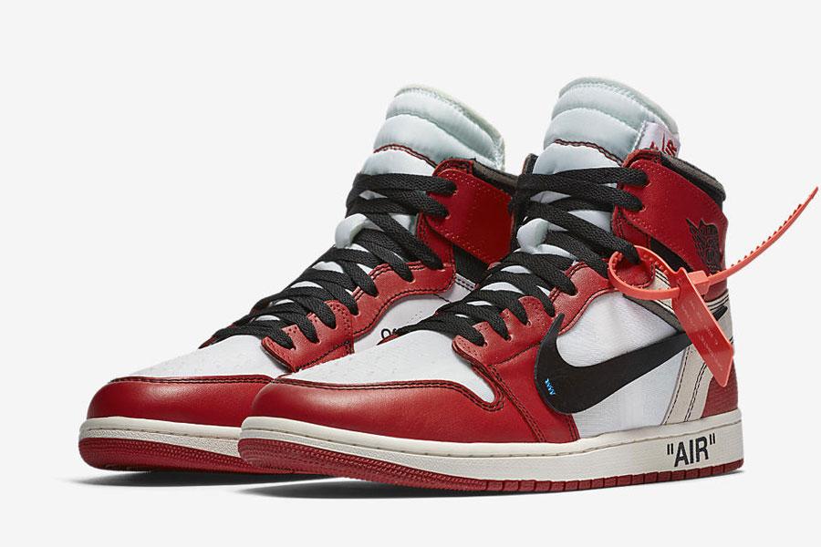 Virgil Abloh OFF-WHITE x Nike THE TEN Air Jordan 1