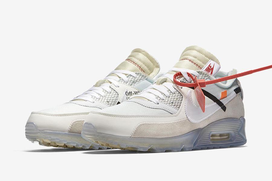 Virgil Abloh OFF-WHITE x Nike THE TEN Air Max 90