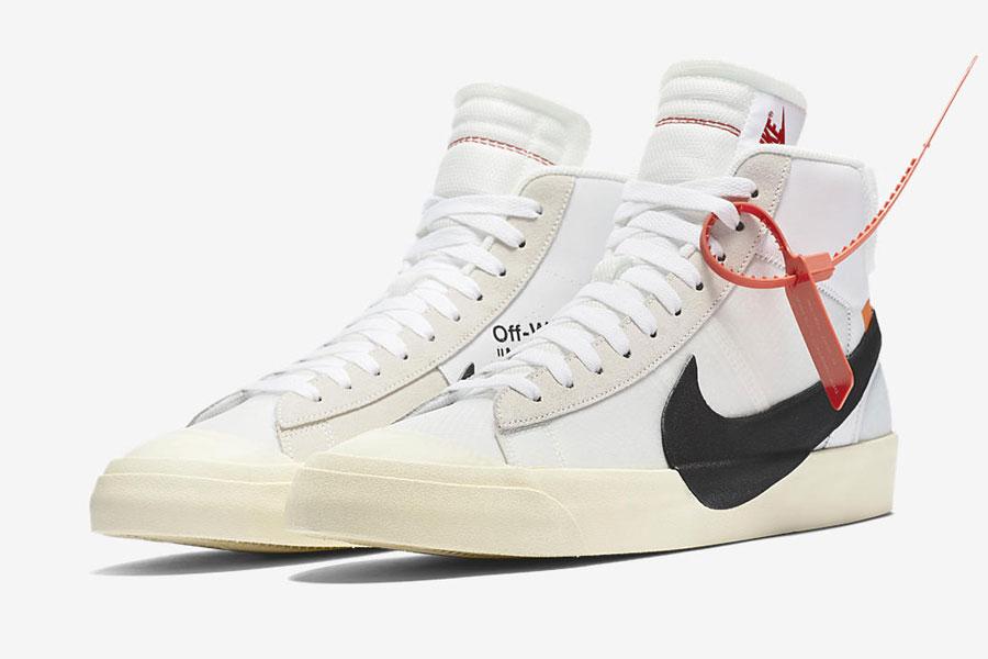 Virgil Abloh OFF-WHITE x Nike THE TEN Blazer Mid