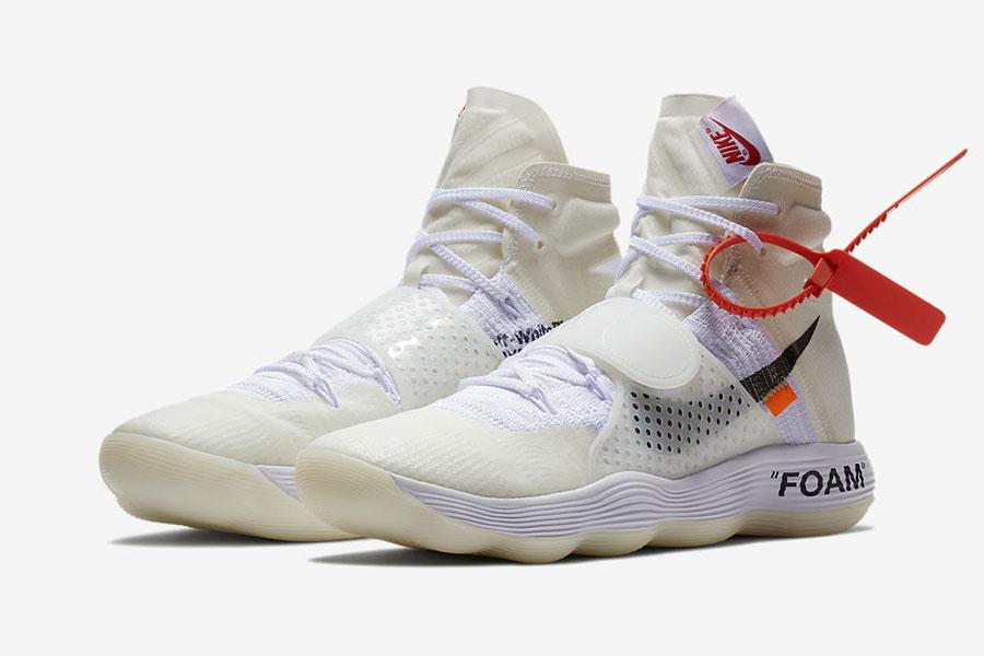 Virgil Abloh OFF-WHITE x Nike THE TEN React Hyperdunk 2017