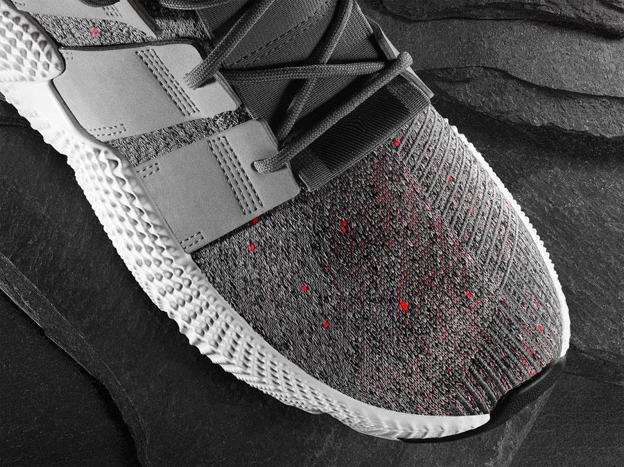 adidas Prophere Grey (CQ3023) - Toebox