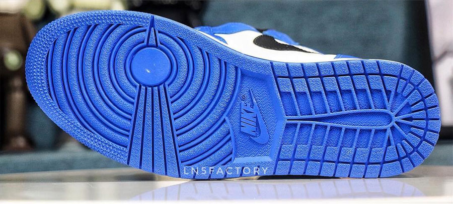 Nike Air Jordan 1 Retro High OG Game Royal (555088-403) - Outsole