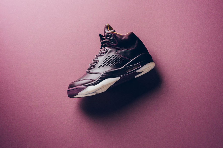 Nike Air Jordan 5 Retro Premium Bordeaux (881432 612) - Side