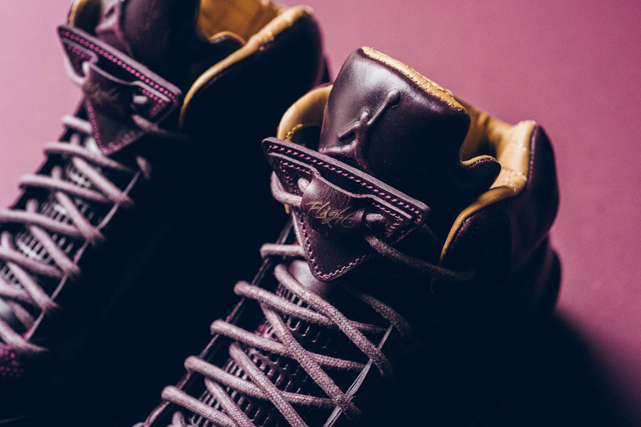 Nike Air Jordan 5 Retro Premium Bordeaux (881432 612) - Tongue