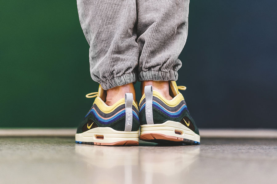 Sean Wotherspoon x Nike Air max 1 97 Collectors Dream (AJ4219-400) - On feet (Back)