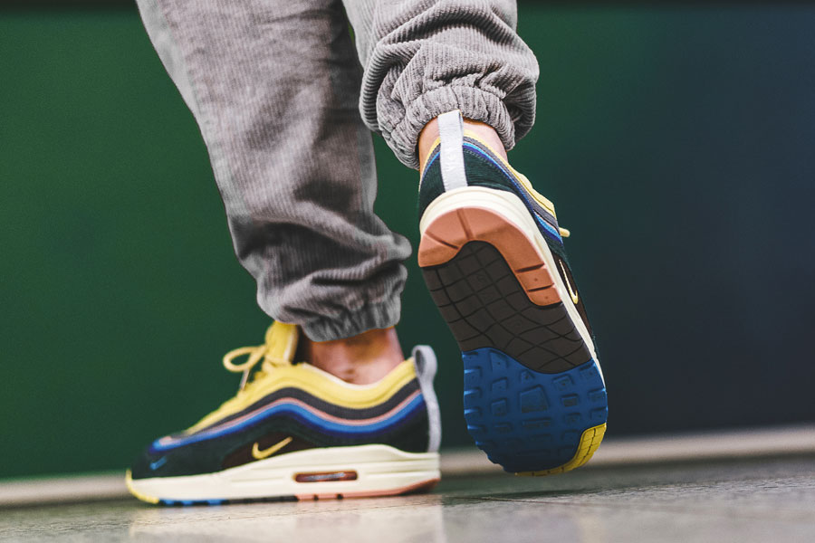 Sean Wotherspoon x Nike Air max 1 97 Collectors Dream (AJ4219-400) - On feet (Outsole)