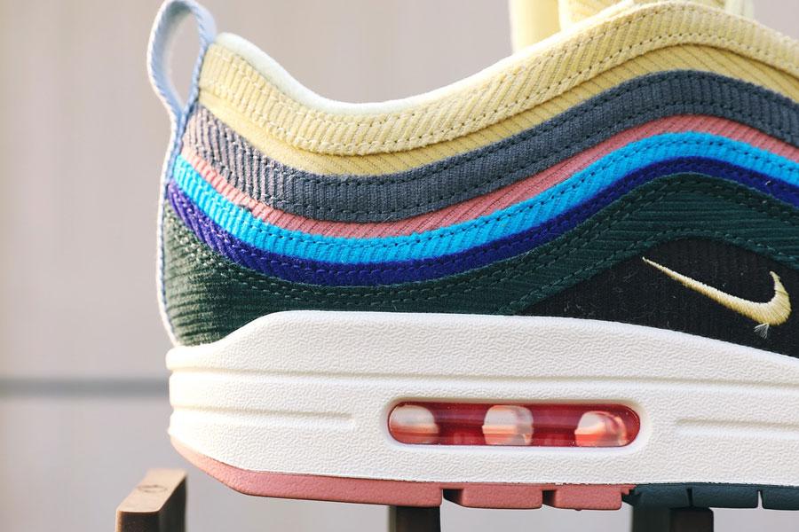Sean Wotherspoon x Nike Air Max 1 97 More Air (Heel)