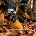 Timberland x The North Face 6 Inch Nuptse Boot - Front (On feet)