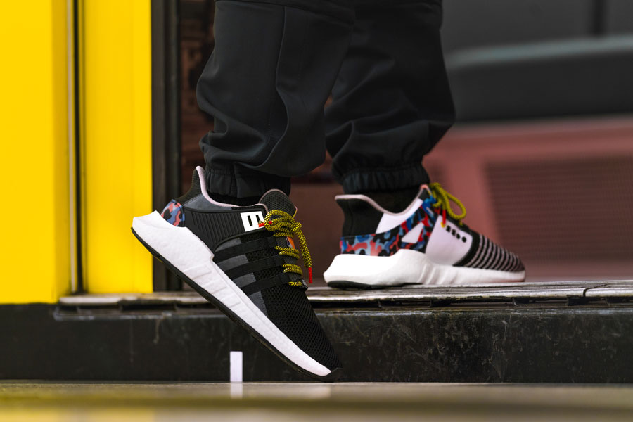 adidas EQT Support 93 Berlin BVG - Heel (On feet)