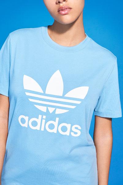 adidas Originals adicolor 2018 - Blue T-Shirt (Women)