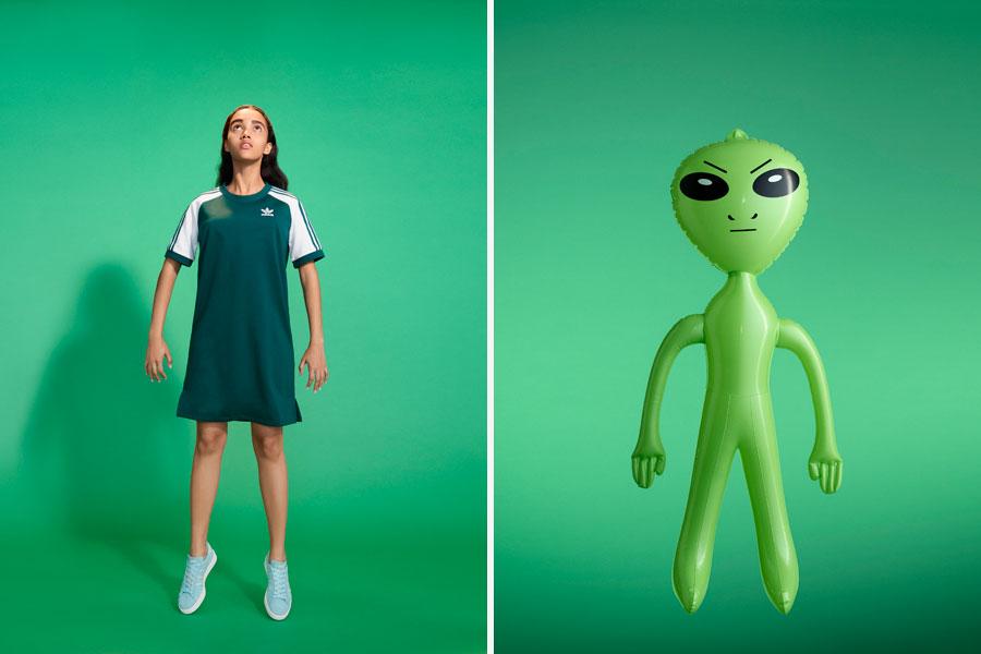adidas Originals adicolor 2018 - Green (Women)