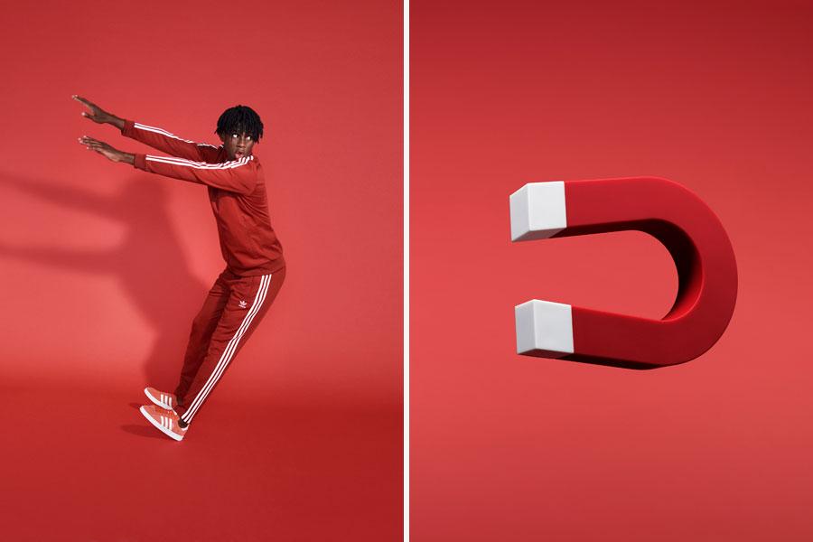 adidas Originals adicolor 2018 - Red (Men)