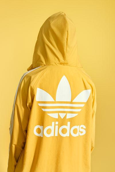 adidas Originals adicolor 2018 - Yellow Hoodie (Women)