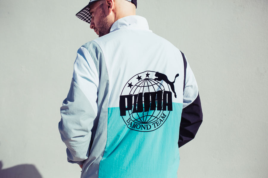 Diamond Supply Co. x PUMA Spring Summer 18 Collection - Track Jacket (Back)