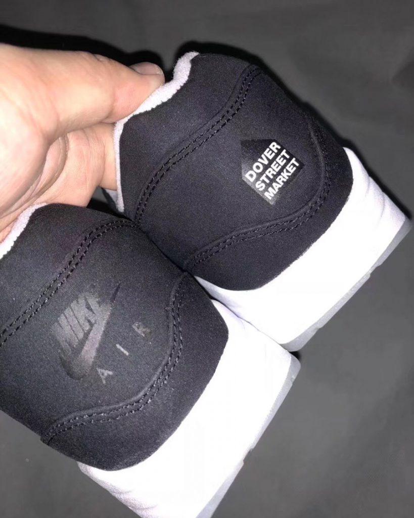 Dover Street Market x Nike Air Max 1 (Black) - Back