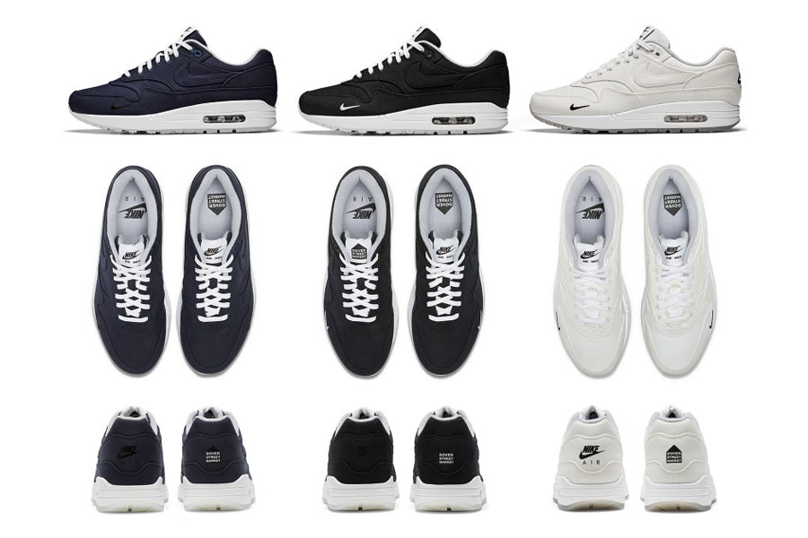 Dover Street Market x Nike Air Max 1 – Ventile Collection (Details)