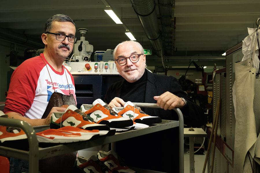 Hummel & Hummel Sneakers Made In Germany - Bernd Hummel