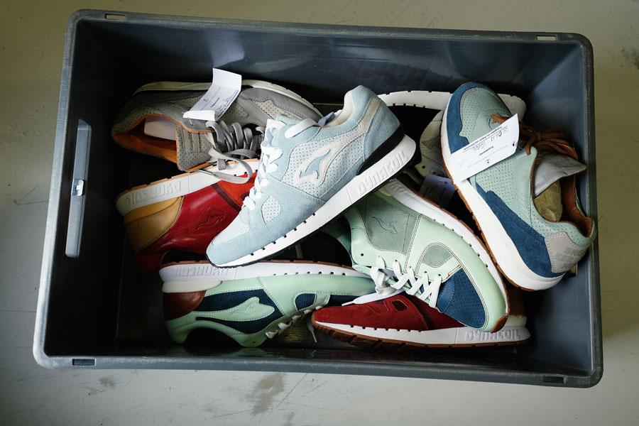 Hummel & Hummel Sneakers Made In Germany - KangaROOS