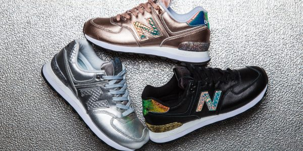 "New Balance Vamps up the 574 with ""Glitter Punk"" Vibes"