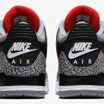 Nike Air Jordan 3 Retro Black Cement 2018 (854262-001) - Back