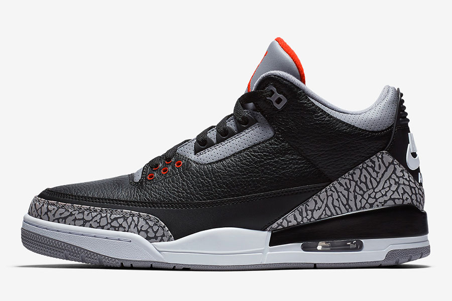 Nike Air Jordan 3 Retro Black Cement 2018 (854262-001) - Left