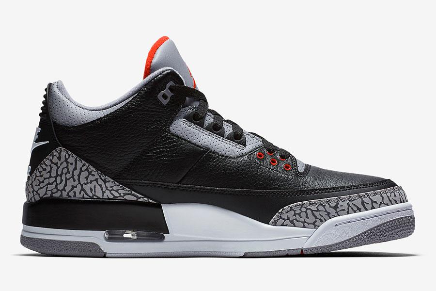 Nike Air Jordan 3 Retro Black Cement 2018 (854262-001) - Right